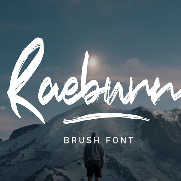 Raebrush Handwritten Font