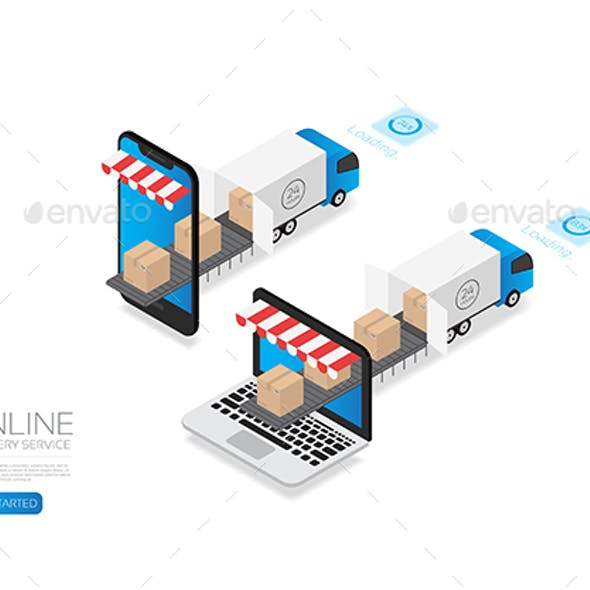 Isometric E-Commerce