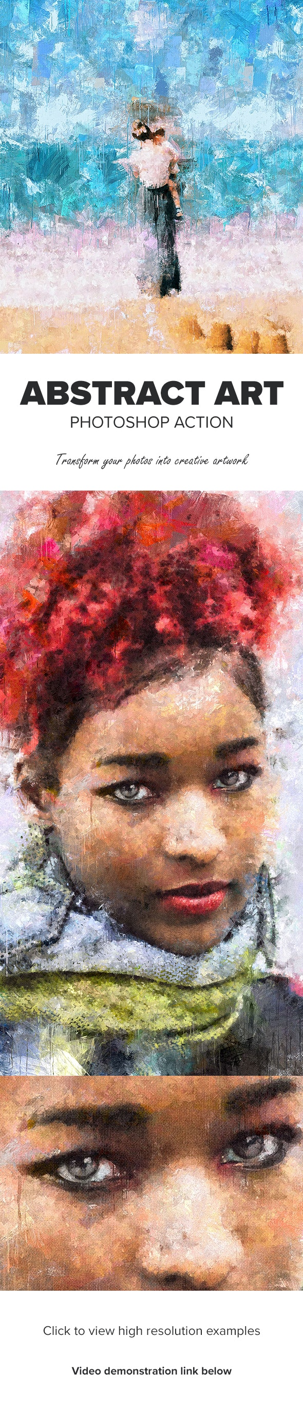 Abstract Art Photoshop Action - Photo Effects Actions