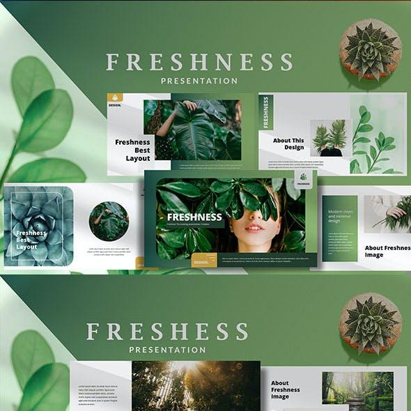 Freshness Modern - Beautiful Creative Powerpoint