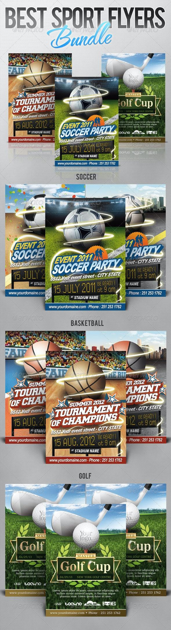 Sport Flyers Bundle - Sports Events