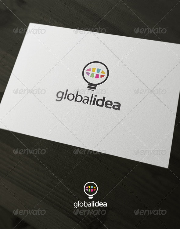 Global Idea - Vector Abstract
