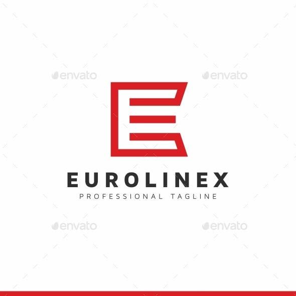Eurolinex E Letter Logo