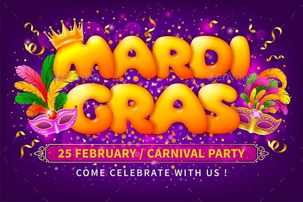 Mardi Gras - Miscellaneous Seasons/Holidays