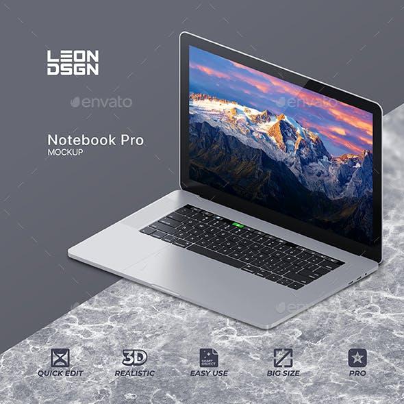 Notebook / Laptop Mockup