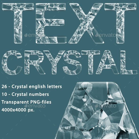 3D Crystal Text