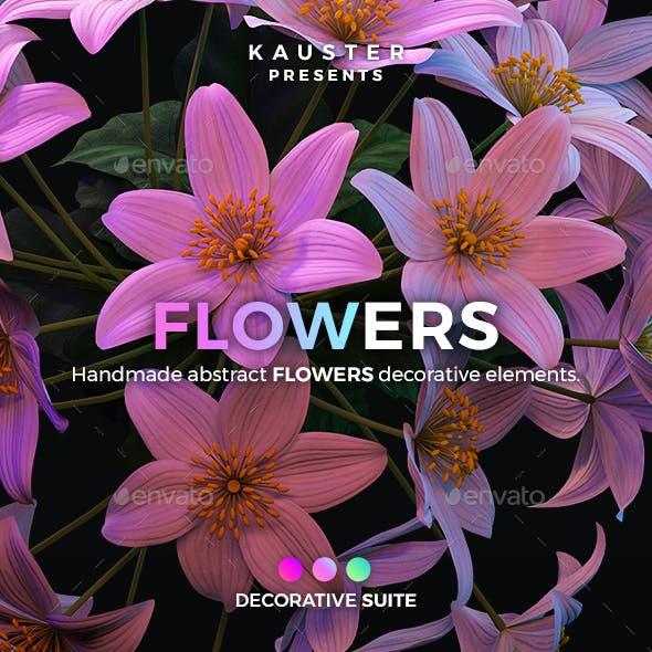 Flowers Decorative Suite