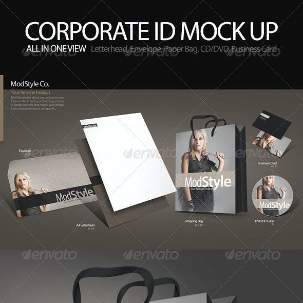Corporate Identity Mock up Pro