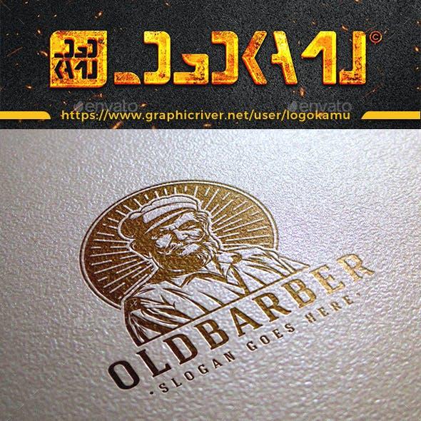 Old Barber Logo