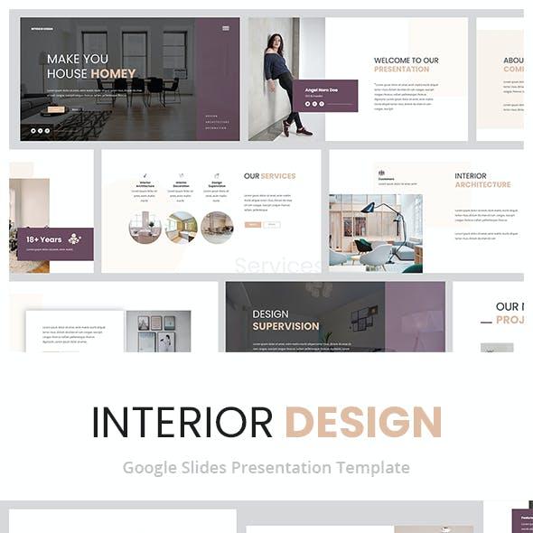 Interior Design Google Slides Presentation