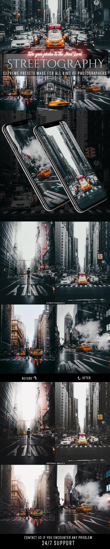 Streetography Lightroom Preset - Lightroom Presets Add-ons