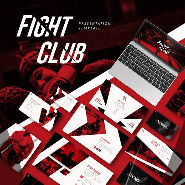 Fight Club Sports Presentation Template