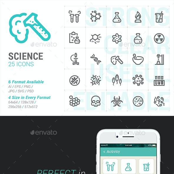Science Mini Icon