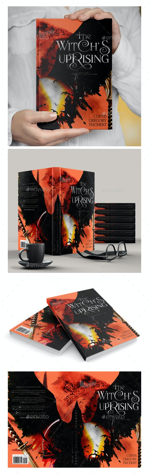 Witches Uprising - Ebook Cover - Print Templates