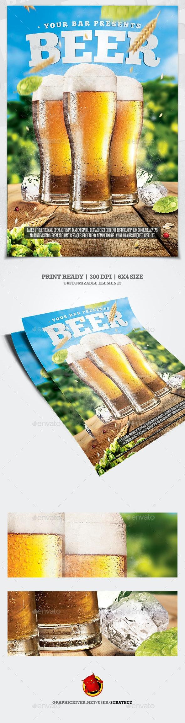 Beer Day Flyer - Commerce Flyers