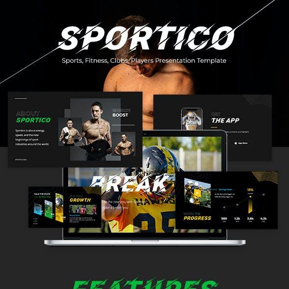 Sportico - Sport Powerpoint Template