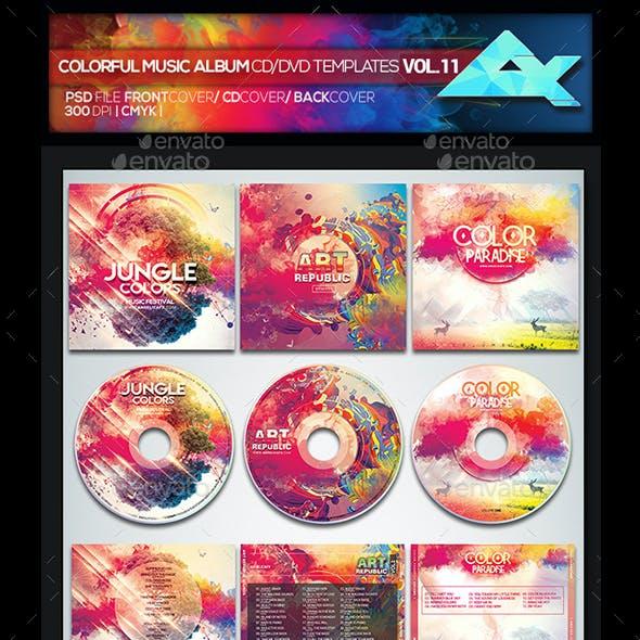 Colorful CD/DVD Album Covers Bundle Vol. 11
