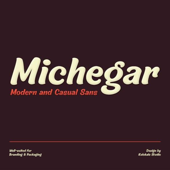 Michegar - Casual Sans Serif Font