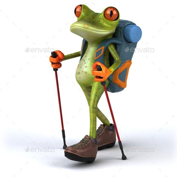 Frog Backpacker