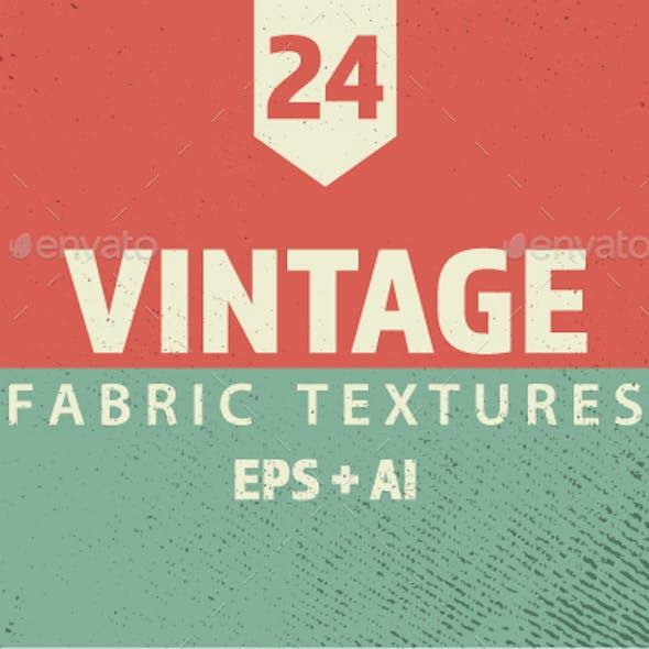 Fabric Texture in Vector Format