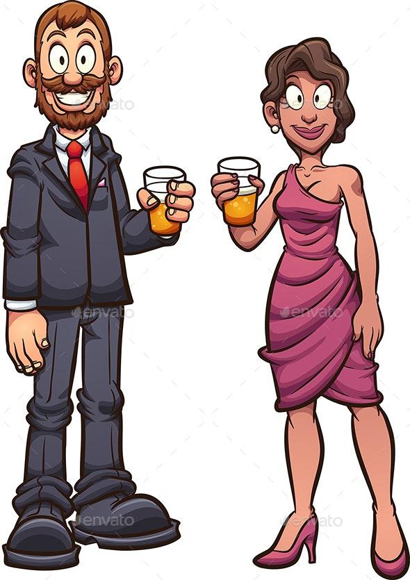 Fancy Couple - People Characters