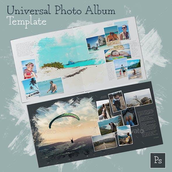 Universal Photo Album Template
