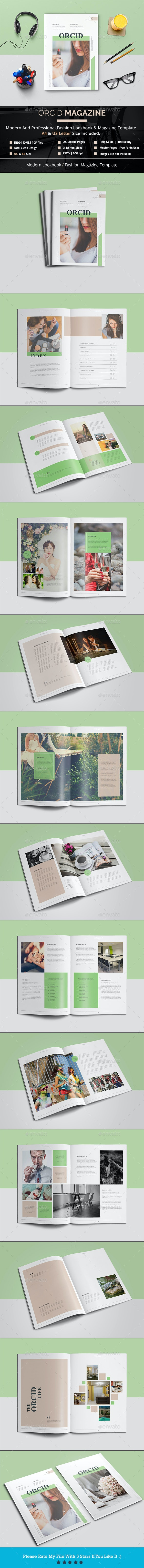 Orcid Magazine - Magazines Print Templates
