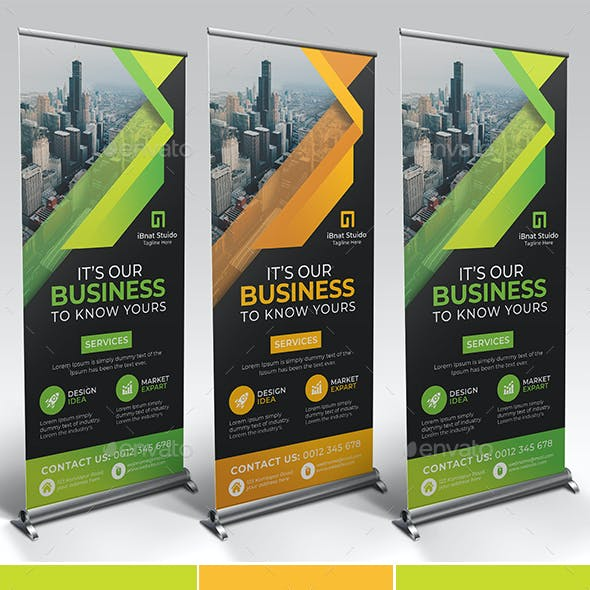 Corporate Roll Up Banner Vol-04