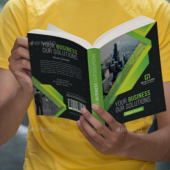 Corporate Book Cover Vol-04