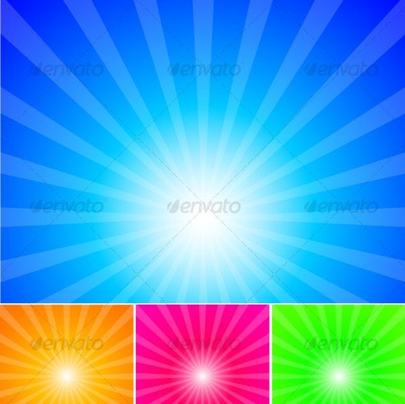 sunrays background - Backgrounds Decorative