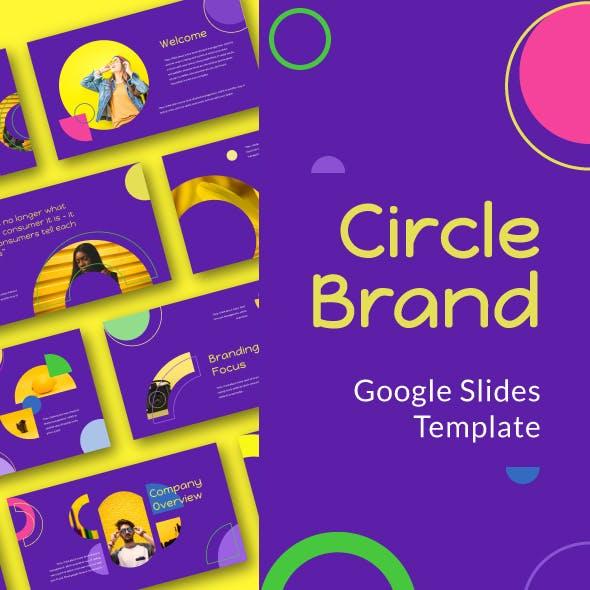 Circle Brand Google Slide Template