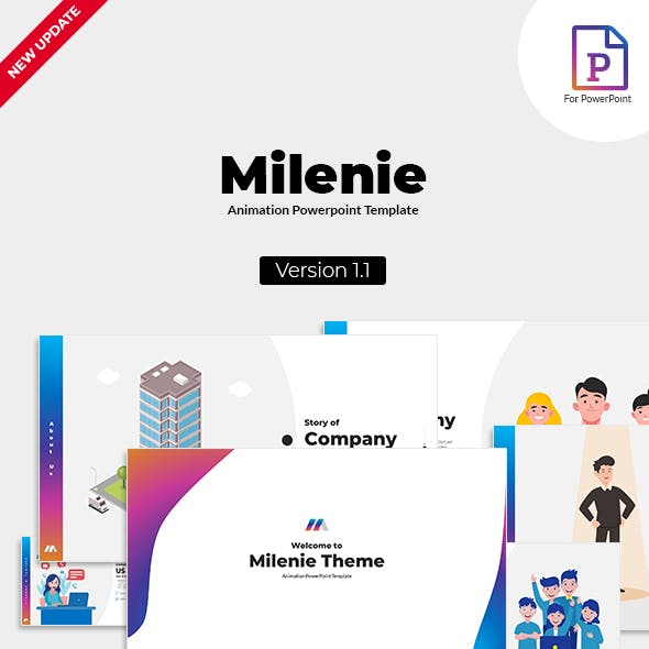 Milenie - Animation PowerPoint Template