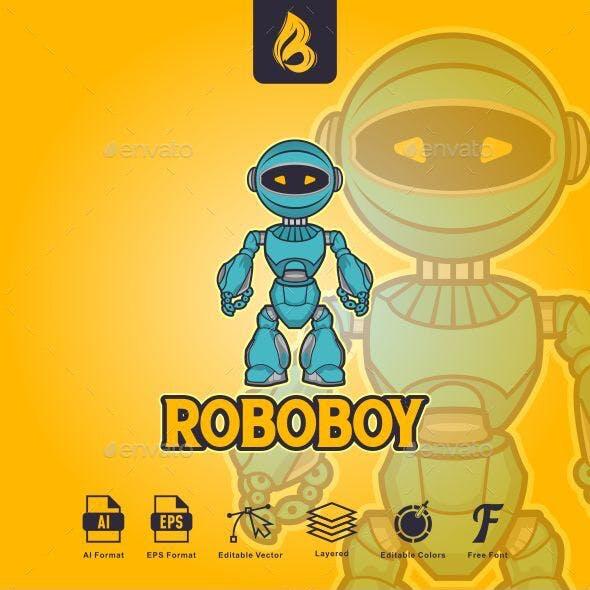 Roboboy Logo - Robot Logo