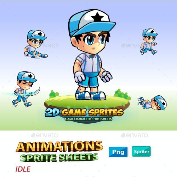 Niel 2D Game Charcter Sprites