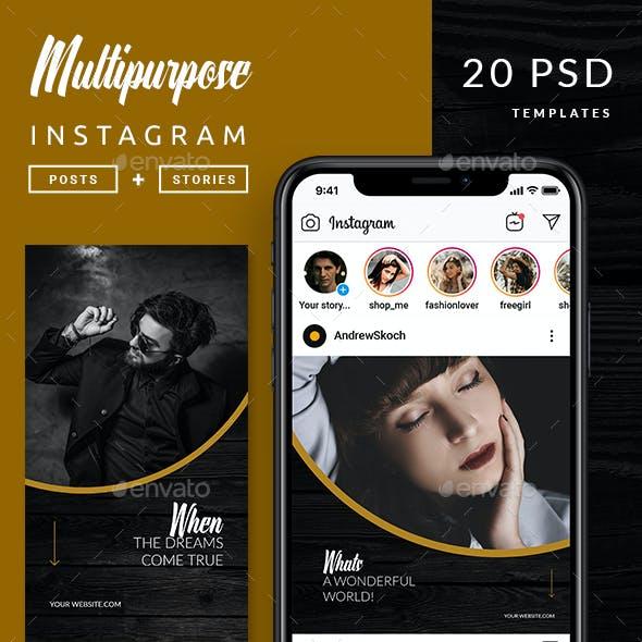 Multipurpose Instagram Template