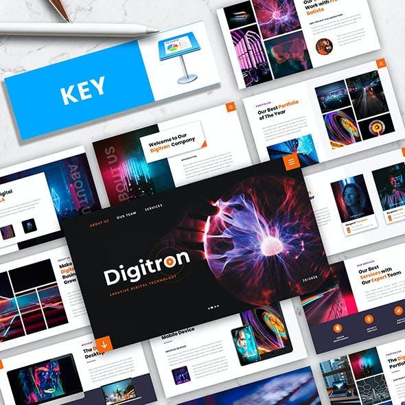 Digitron – Creative Digital Technology Keynote Template