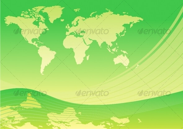 Green world - Travel Conceptual