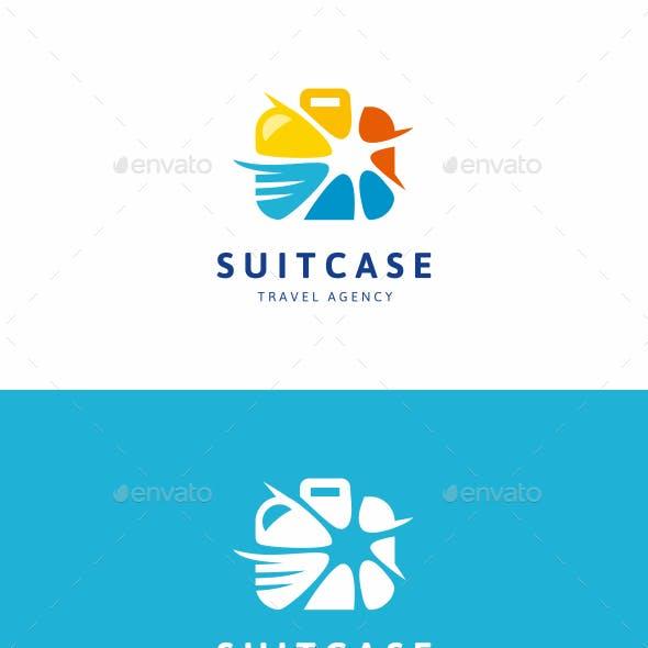 Travel Suitcase Logo