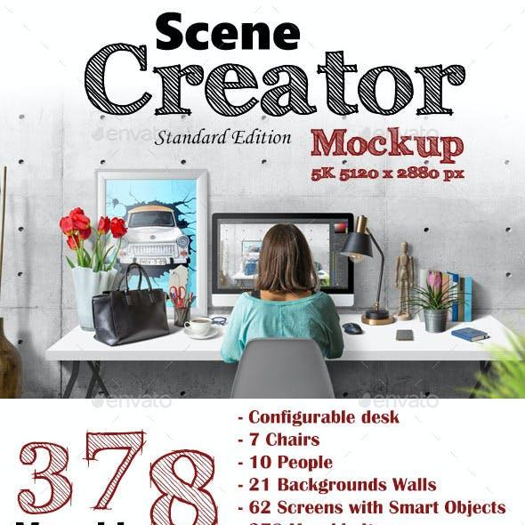 Scene Creator 5K Mockup (Standard Edition)