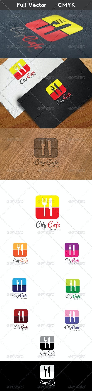 City Cafe Logo - Food Logo Templates