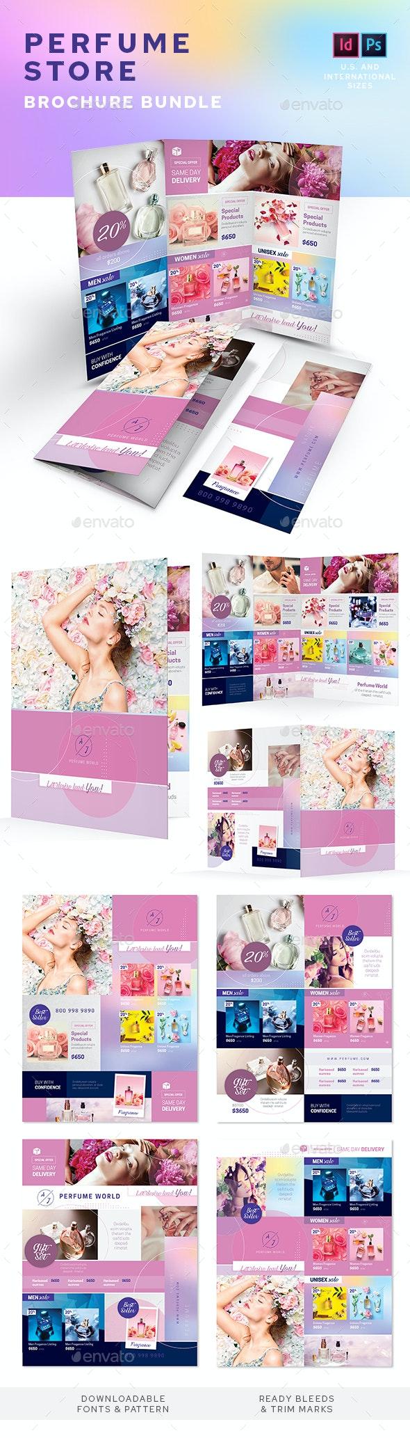 Perfume Store Print Bundle - Informational Brochures