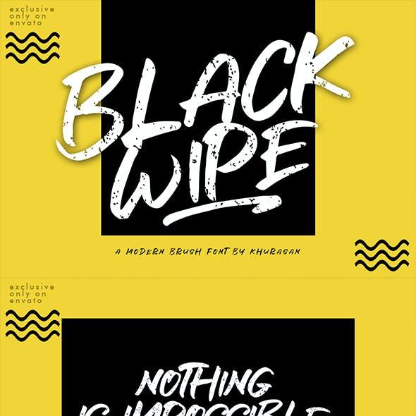 Black Wipe