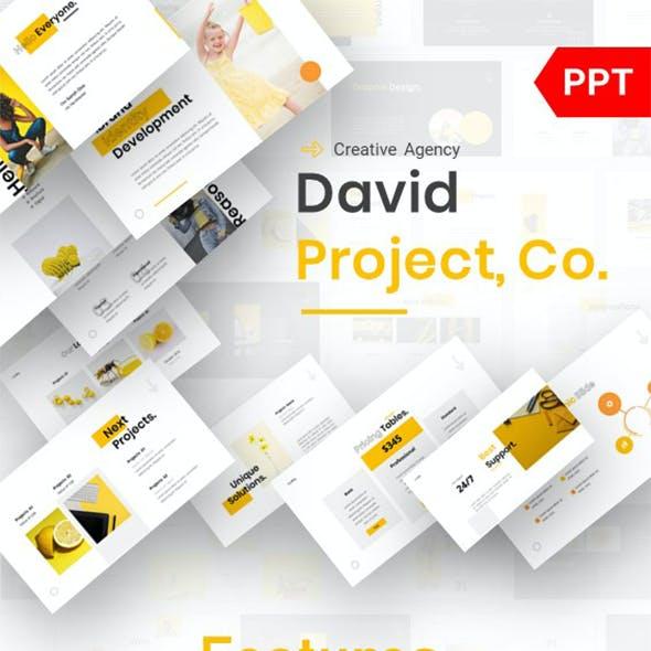 David - Creative Agency Powerpoint