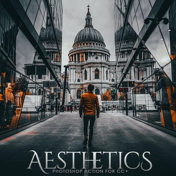 Aesthetics Photoshop Action
