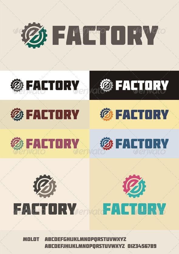 Factory Logo - Symbols Logo Templates