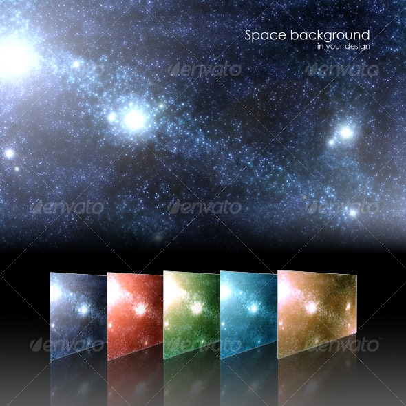 Space background - Backgrounds Graphics