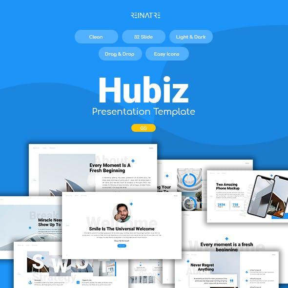 Hubiz - Business Google Slides Template