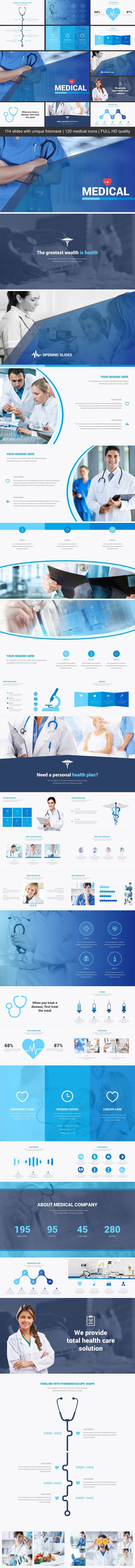 Medical - Business PowerPoint Templates