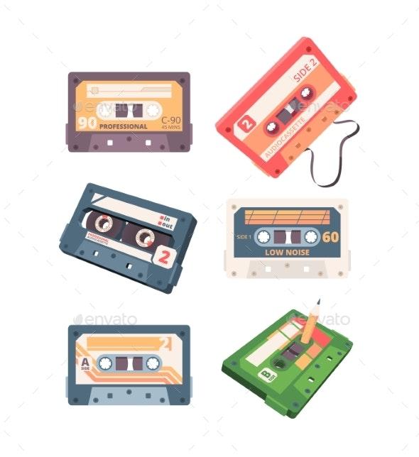 Audio Cassette Retro Stereo Tape Analogue Music - Retro Technology