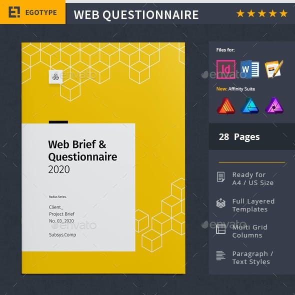 Web Brief Proposal